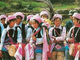 云南建水彝族服饰