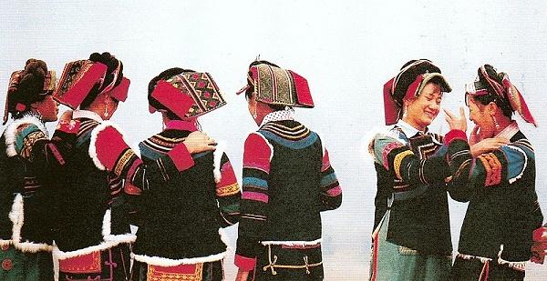 凉山神乍式彝族服饰