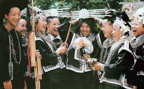 贵州剑河县久仰式苗族服饰