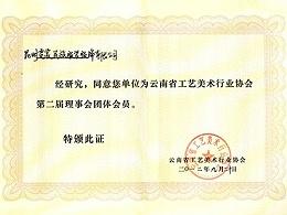 霓裳民族服饰:云南省工艺美术行业协会第二届理事会团体成员
