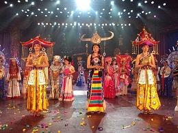 民族舞台表演服装